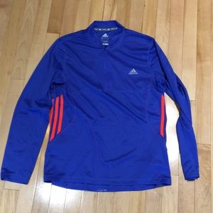 Adidas Climalite Running Shirt Men's large